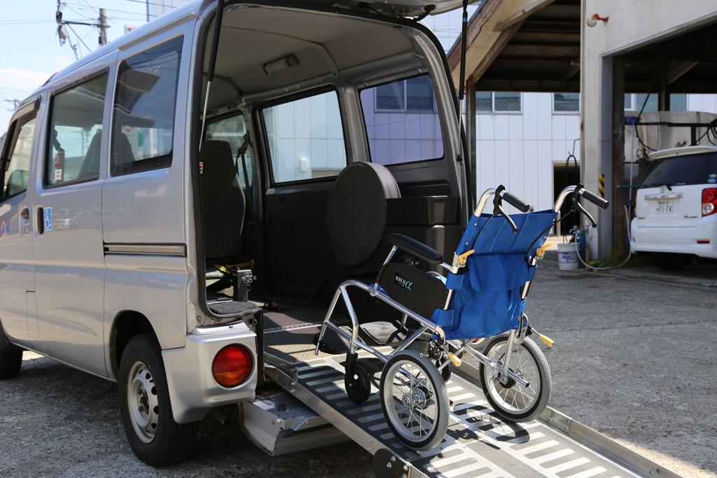 福祉タクシーのイメージ画像